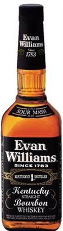 Evan Williams Whiskey Extra Aged Black Label